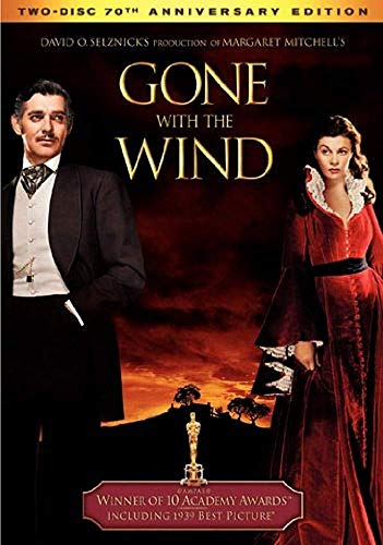 Gone with The Wind 70th Aniversary DVD