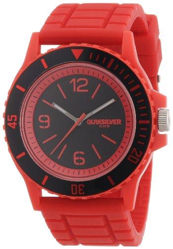 Quiksilver M163BRARED - Reloj para Hombres, Correa de Goma Color Rojo