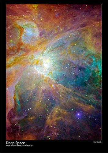 Weltraumteleskop Hubble Poster – Orion-Nebel – Größe A2, 59 x 42 cm (ca.) [DS2]