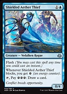 Magic The Gathering - Shielded Aether Thief (044/184) - Aether Revolt