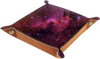 Desheze Étoiles de nébuleuse Rouge (12) Boîte de Rangement Pliable Stockage Boîte Maquillage Bijoux Jouets Papeterie Organ...