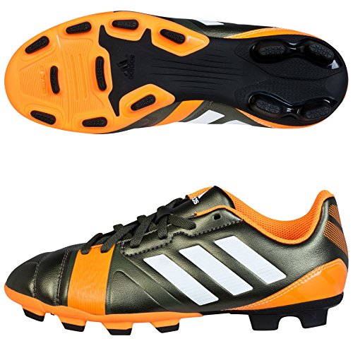 adidas, Scarpe da Calcio Bambini eargrn/runwh