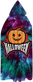 Pumpkin Halloween 3D Printed Cap for Children and Adults Furry Cap Blanket Super Fiber Beach Blanket Cape Shawl