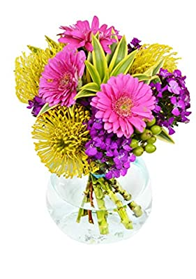 Delivery by Wednesday, June 30th Brightened Day Bouquet by Arabella Bouquets from Arabella Bouquets