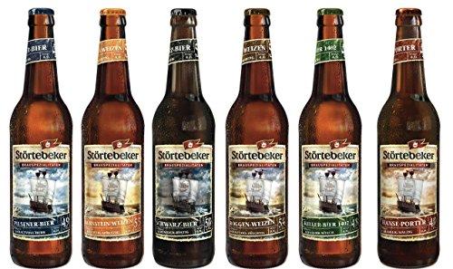 24 Flaschen Störtebeker Schatzkiste a 0,5L inc. 1.92€ MEHRWEG Pfand Bierspezialitäten Mix aus 6 x 4er