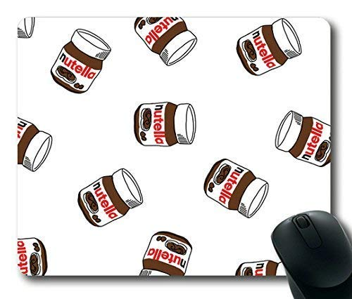 Nutella Pattern Customized Rechteck Mauspad, Gaming Mouse Pad