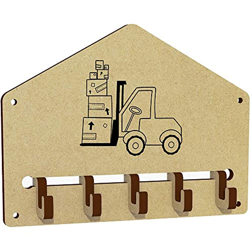Azeeda 'Forklift Truck' Wall Mounted Key Hooks / Holder (WH00030355)