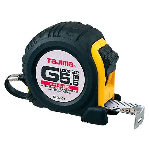 タジマ Gロック-22 5.5m 22mm幅 メートル目盛 GL22-55BL
