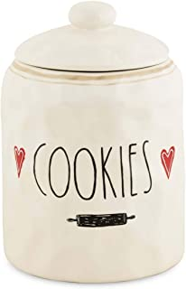Transpac A5218 Bright Easter Cookie Jar 8.25-inch Height Dolomite