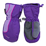 Best Head Ski Gloves - Head Jr. zippered side Ski Mittens, Review