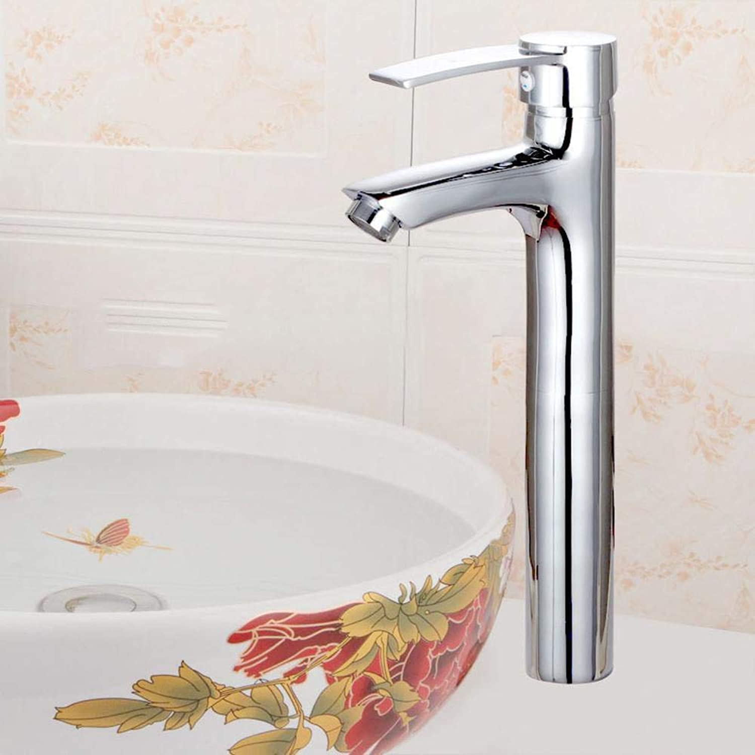 Qpw Table Basin Faucet Heightening hot and Cold Faucet washbasin Faucet
