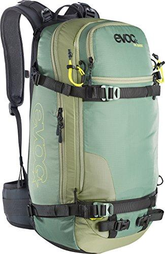 EVOC Protektor Rucksack FR Guide, Olive-Sulphur, 50 x 27 x 22 cm, 28 Liter