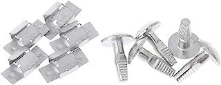 planuuik 5 Pares de Clips de Ajuste del Motor Perno de Montaje Debajo de la Cubierta para Peugeot 206 207 406 407 806 807