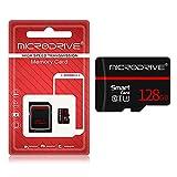 XINGHE 16G/32G/64G/128G Scheda Micro SD,Classe 10 con Adattatore SD,UHS-I velocità Fino a 80/30 MB/Sec(R/W) Micro SD Card per Telefono, Videocamera, Switch, Gopro, Tablet (128G)
