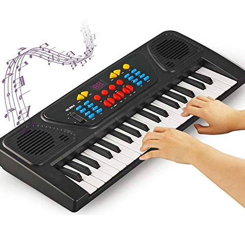 Nannday Teclado de Piano electrónico, 37Key Teclado de Piano eléctrico Instrumento Digital...