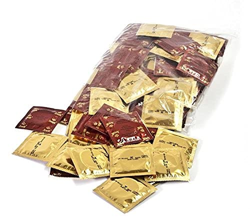 AMOR Nature 53mm Premium Kondome, 100 Stück, gefühlsecht und extra feucht