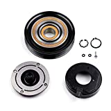 SCITOO AC Compressor Clutch CO 10736C Compatible for A-cura MDX TL for Accord Odyssey for H-onda Pilot Ridgeline 2003-2008 Auto Compressor Clutch Assembly Kit