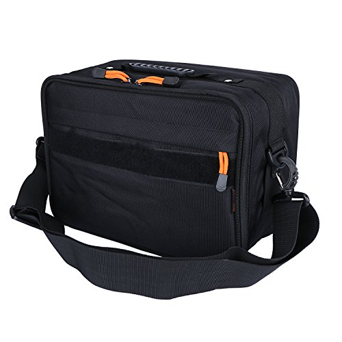 Goture Fishing Bag Portable Outdoor Fishing Reel & Gear Bag Shoulder Carry Strap Storage Water-Resistant Fishing Tackle Bags