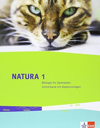 Natura Biologie 1: Lehrerband mit DVD-ROM Klassen 5/6 (Natura Biologie. Allgemeine Ausgabe ab 2013)