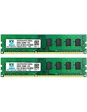 DDR3 1333MHz PC3-10600 240 Pin DIMM 8GB Kit (2x4GB) 電圧 1.5V 2RX8 CL9 デスクトップPC用メモリ