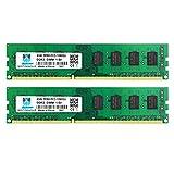 8GB Kit (2x4GB) DDR3 1333MHz PC3 10600 10600U Unbuffered Non-ECC 1.5V CL9 2Rx8 Dual Rank 240 Pin UDIMM Memoria de Escritorio