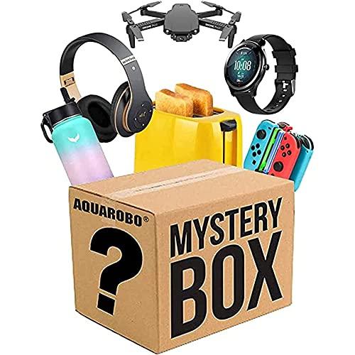 Caja Misteriosa, Caja Novedosa Electrónica, Cajas de La Suerte, Productos Aleatorios Misteriosos, Existe La Posibilidad de Abrir: como Drones, Mandos para Juegos Y Más, Todo Lo Posible