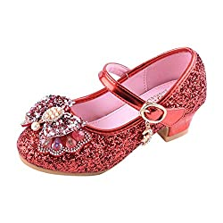 Y-Red Mary Jane Low Heels Shoes