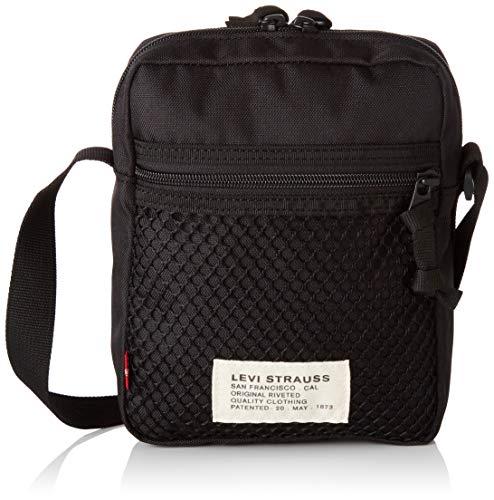 Levi's Men's Series Mesh X-Body Bag, Black, One Size
