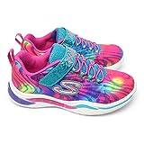 [スケッチャーズ] 光る靴 ガールズ 20203L エスライツ 総柄 子供靴 女の子 スニーカー キッズ ジュニア Girls S LIGHTS POWER PETALS FLOWERPARK MLT(マルチ) 19.0cm