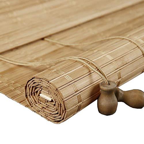 Jcnfa-rolgordijn breed bamboe gordijn, gordijnrolgordijnen, zonwering partitie, roltype hoge schaduw, brede filmserie
