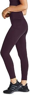 Rockwear Activewear Women's Winter Bloom Ag Op Luxe Pocket Tig BlackBerry 14 from Size 4-18 for Bottoms Leggings + Yoga Pa...