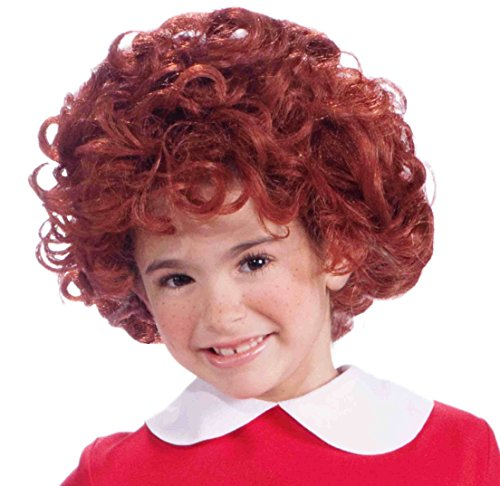 Annie Little Orphan Red Costume Wig Child One Size