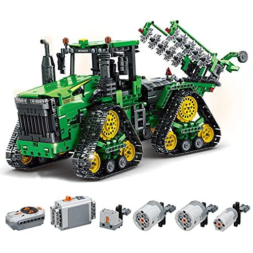 WANZPITS Tractores De Pista Técnica 7119 Kit De Construcción; RC Mobility Mobility Moc Tractors Modelo para Adultos Un Regalo De Cumpleaños Compatible con Lego Technica,(1706 Pieces)