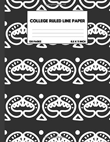 Composition Notebook: College Ruled Line Paper: Notebook, Composition Book, Exercise Book, Journal, Diary, School / College Book, Scribble
