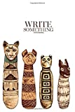 Notebook - Write something: Ancient Egyptian mummies of cats and dog notebook, Daily Journal, Composition Book Journal, College Ruled Paper, 6 x 9 inches (100sheets)