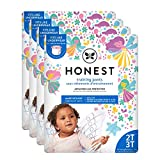 The Honest Company Toddler Training Pants, Fairies, 2T/3T, 104 Count, Eco-Friendly, Underwear-Like Fit, Stretchy...