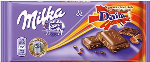 Milka Milka y Daim, 20unidades) (20x 100g)