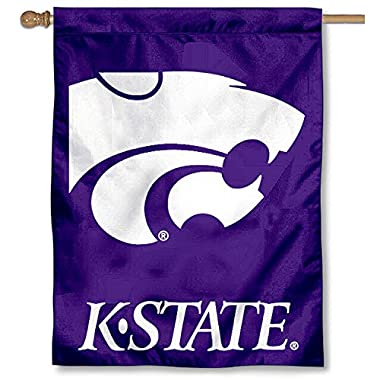 College Flags and Banners Co. Kansas State University Wildcats House Flag