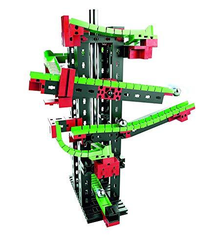 fischertechnik 536620 Dynamic S Kugelbahn mit Klang für Kinder ab 7 Jahren 3 Modelle einfache Kugelbahn, ActionKugelbahn und Kugelbahn mit zwei Kreisläufen