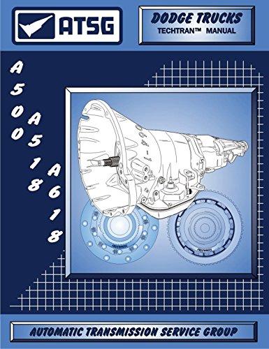 ATSG A500 A518 A618 42RE 42RH 46RE Technical Service Repair Manual