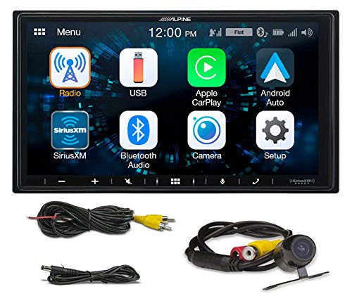 "ALPINE iLX-W650 7"" Digital Media Bluetooth Car Receiver CarPlay/Android+Camera"