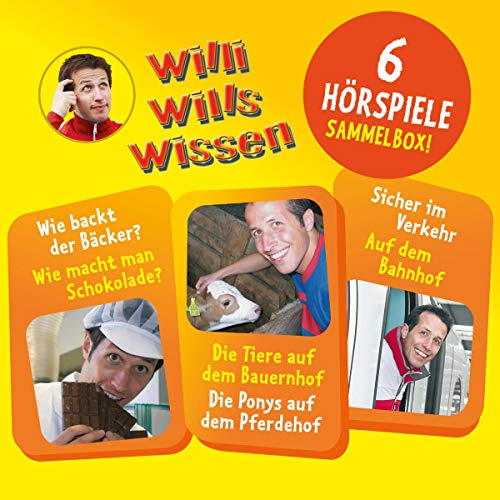 Willi wills wissen 1-3 cover art