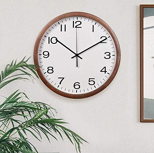 BAHSD moderne klok minimalistisch Nordic IKEA woonkamer huis grafische wandklok kwarts