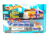 Hot Wheels City Road Rally Toy Car Set