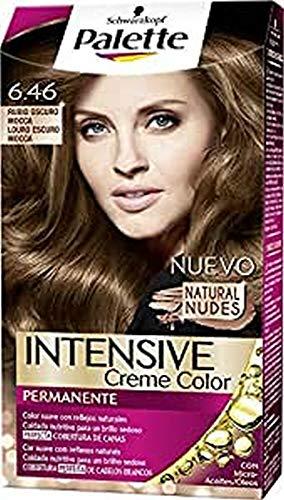 Palette Intense - Tono 6.46 Rubio Oscuro Mocca- 2 uds - Coloración...