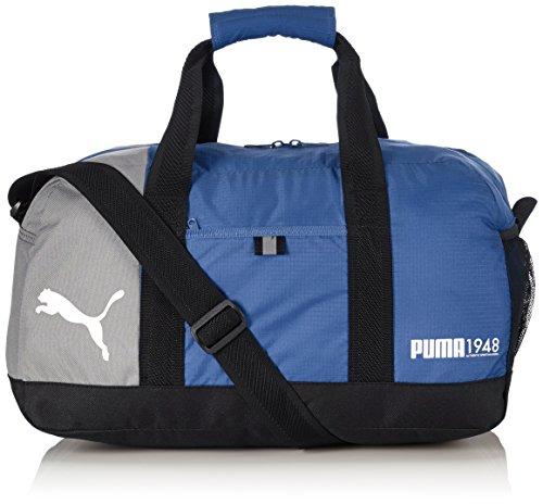 PUMA, Borsa sportiva Fundamentals Sports Bag, Verde (Limoges)