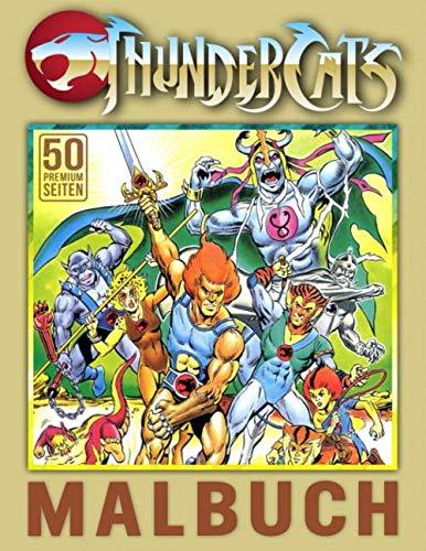 ThunderCats Malbuch: Spezielles Malbuch für Kinder und Erwachsene, Jugendliche, ein lustiges Geschenk
