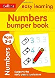 Numbers Bumper Book Ages 3-5: Ideal for Home Learning (Collins Easy Learning Preschool) (English Edition)