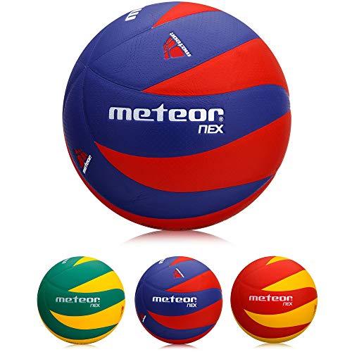 meteor Nex Volleybälle (Blau & Rot)