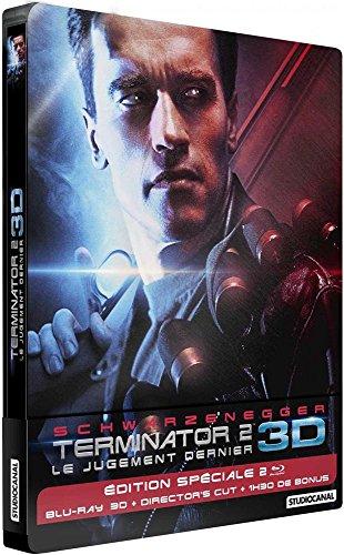 Terminator 2 - Limited Edition Blu-Ray 3D / 2D- Steelbook Fr Import